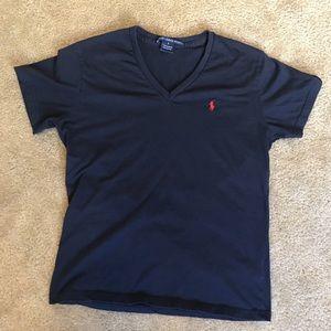 Ralph Lauren V-Neck Tee Shirt
